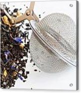 Tea Ball Infuser And Scented Tea Acrylic Print