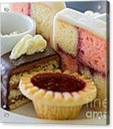 Tea Cakes Acrylic Print