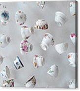 Tea Cups Acrylic Print