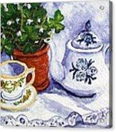 Tea For Nancy Acrylic Print