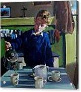 Tea For Three  Me Da Me Ma And Me Acrylic Print