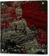 Tea Meditation Acrylic Print by Peter R Nicholls