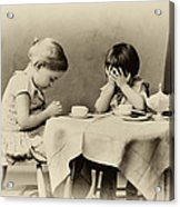 Tea Party Blessing Acrylic Print by Tony Grider