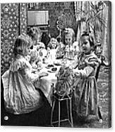 Tea Party, C1902 Acrylic Print