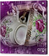 Tea Party Acrylic Print by The Stone Age