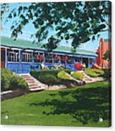 Tea Rooms At The Peoples Park Acrylic Print