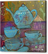 Tea Spot Acrylic Print