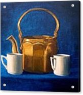 Tea Time Acrylic Print by Janet King