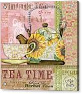 Tea Time-jp2579 Acrylic Print