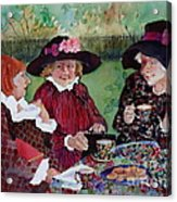 Tea With The Girls Acrylic Print