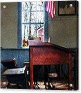 Teacher - Schoolmaster's Desk Acrylic Print