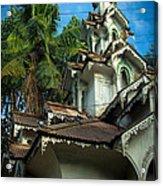 Teak Tower Acrylic Print
