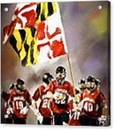 Team Maryland  Acrylic Print by Scott Melby