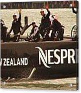 Team New Zealand Acrylic Print