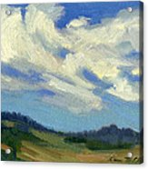 Teanaway Passing Clouds Acrylic Print