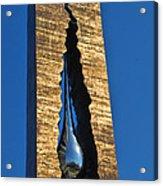 Teardrop  9 - 11 Memorial Bayonne N J  Acrylic Print