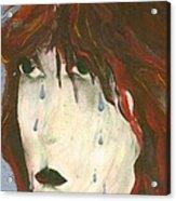 Tear Acrylic Print