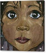 Ebony's Tears Acrylic Print