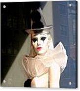 Tears Of A Clown Acrylic Print