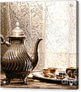 Teatime Acrylic Print by Olivier Le Queinec