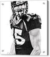 Tebow Acrylic Print by Don Medina