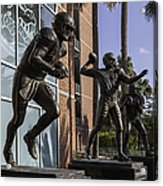 Tebow Spurrier And Wuerffel Uf Heisman Winners Acrylic Print