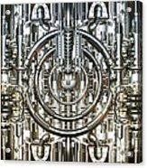 Technically Background Acrylic Print by Diuno Ashlee