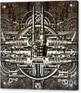 Technically Electronic Background Acrylic Print