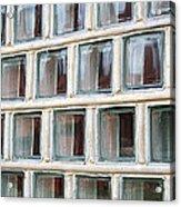 Technocratic Windows Acrylic Print