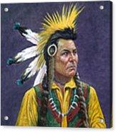 Tecumseh Acrylic Print