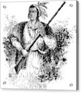 Tecumseh, Shawnee Indian Leader Acrylic Print