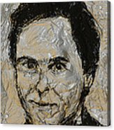 Ted Bundy In Black And White Acrylic Print