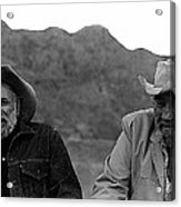 Ted Degrazia And Broderick Crawford Gallery In The Sun Tucson Arizona 3-1969-2009   Acrylic Print