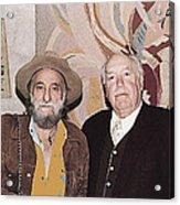 Ted Degrazia Cinematographer Lee Garmes Gallery In The Sun Tucson Arizona No Date-2013 Acrylic Print
