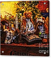 Teddy And Friends Acrylic Print
