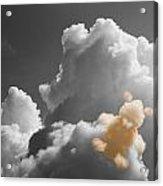 Teddy Bear Cloud Acrylic Print