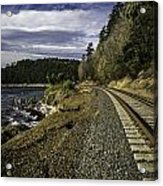 Teddy Bear Cove Railway Acrylic Print