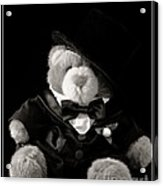 Teddy Bear Groom Acrylic Print by Edward Fielding