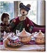 Teddy Bear Tea Party Acrylic Print