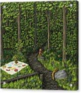 Teddy Bears' Picnic Acrylic Print
