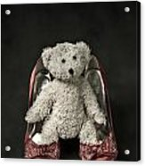 Teddy In Pumps Acrylic Print