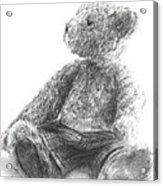 Teddy Study Acrylic Print