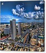 Tel Aviv Center Skyline Acrylic Print