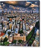 Tel Aviv Lookout Acrylic Print