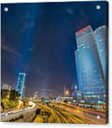 Tel Aviv Nights Acrylic Print