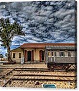Tel Aviv Old Railway Station Acrylic Print