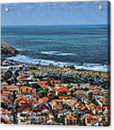 Tel Aviv Spring Time Acrylic Print