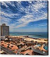 Tel Aviv Summer Time Acrylic Print by Ron Shoshani