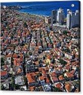 Tel Aviv - The First Neighboorhoods Acrylic Print
