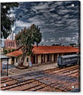 Tel Aviv To Jerusalem Acrylic Print